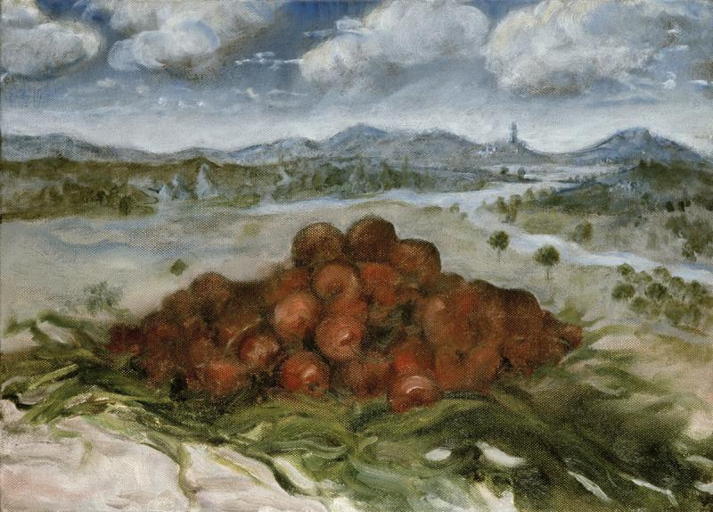 Cherries and Medieval Landscape