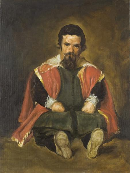 Study after Velazquez's portrait Don Sebastian De Morra