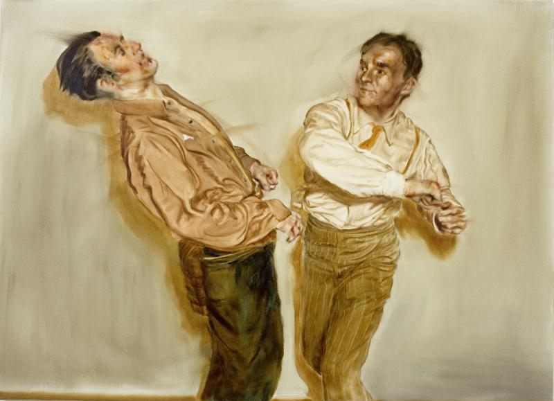 Fight Scene I (Study for Two Figures)